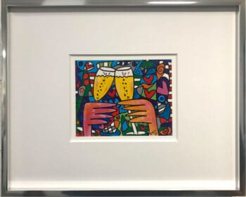 James Rizzi A toast of love