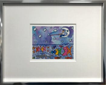James Rizzi Fishing by the light of the moon