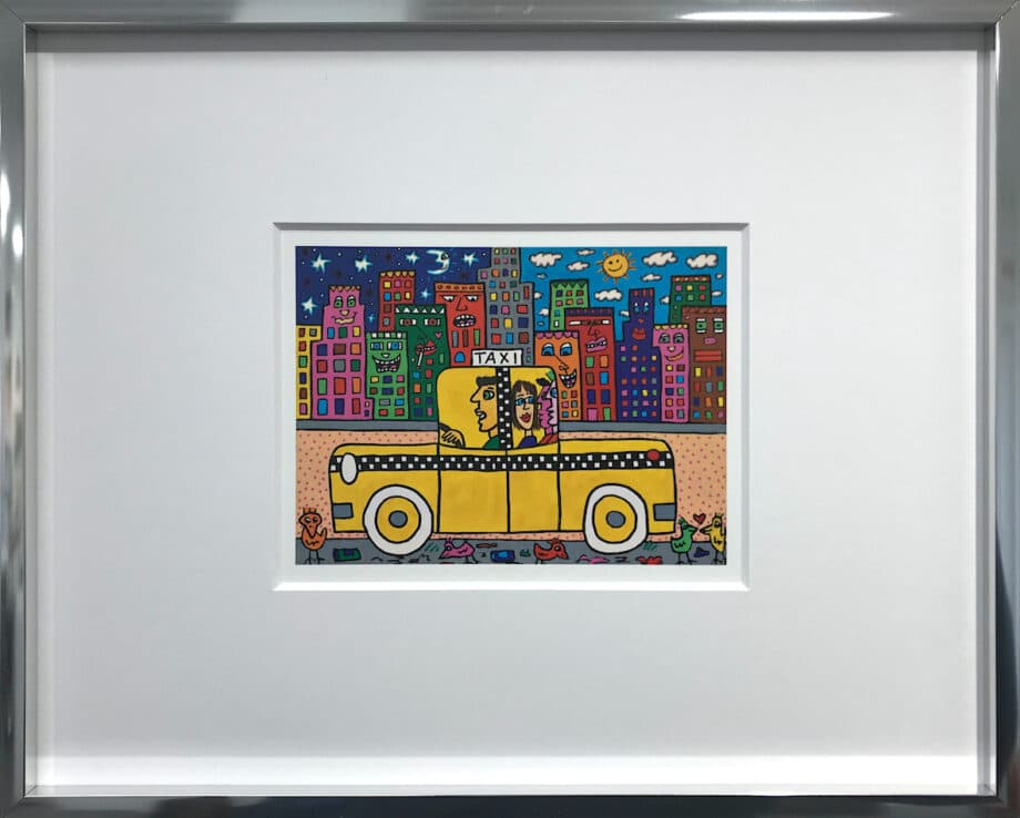 James Rizzi If you take a taxi