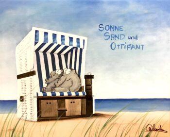 Otto Waalkes Sonne Sand und Ottifant