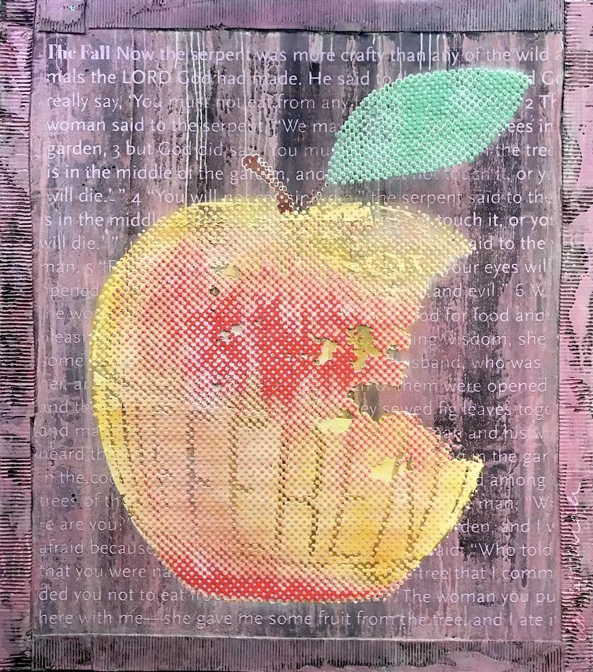Patrizia Casagranda The orange forbidden fruit apple