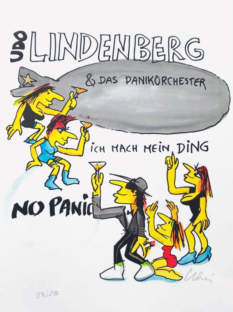 Udo Lindenberg Ich mach mein Ding - No Panic