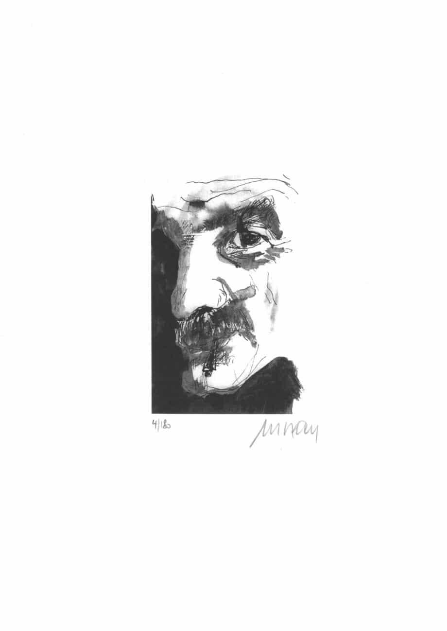 Armin Mueller-Stahl Selbst mit Zigarette