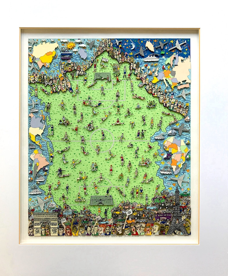 James Rizzi The World will be watching