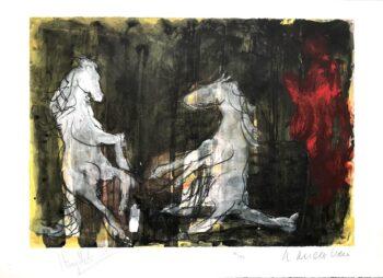 Armin Mueller-Stahl Aufsteigende Pferde