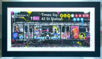 Michel Friess Times Square 42 St Station