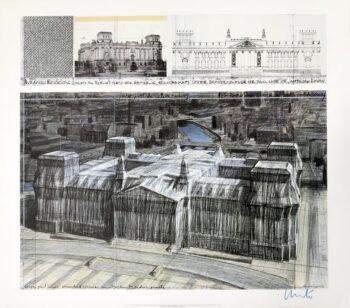 Christo Reichstag 1994