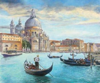 Christian Sommer Venedig am Nachmittag