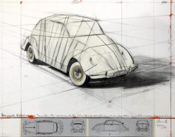 Christo Wrapped Volkswagen