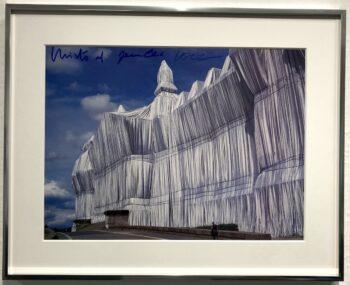 Christo Wrapped Reichstag Vorderseite