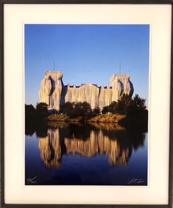 Christo und Jeanne-Claude verhüllter Reichstag