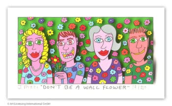 James Rizzi Don't be a wall flower