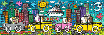 James Rizzi Lets go someplace fun