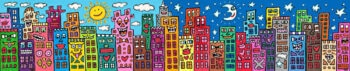 James Rizzi My city doesn't sleep but it will weep