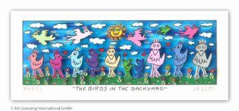 James Rizzi The birds in the backyard