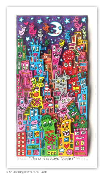 James Rizzi This city is alive tonight