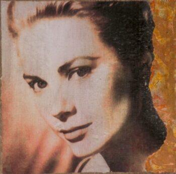 Jane Framer Kunstblock Grace Kelly