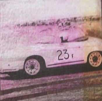 Jane Framer Kunstblock James Dean Car