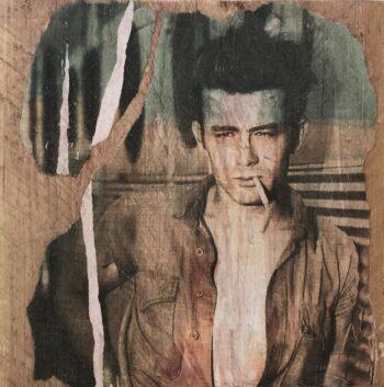 Jane Framer Kunstblock James Dean Cigarette
