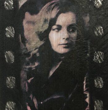 Jane Framer Kunstblock Romy Schneider