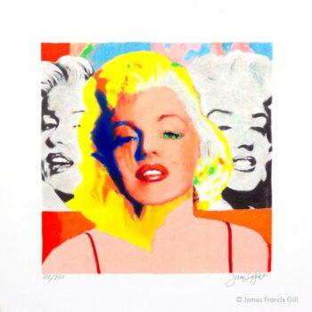 James Francis Gill Mini Marilyn Three Faces