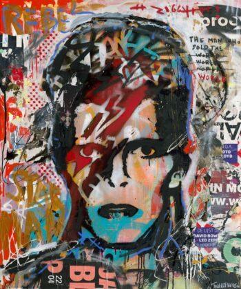 Nick Twaalfhoven David Bowie (Aluminium)